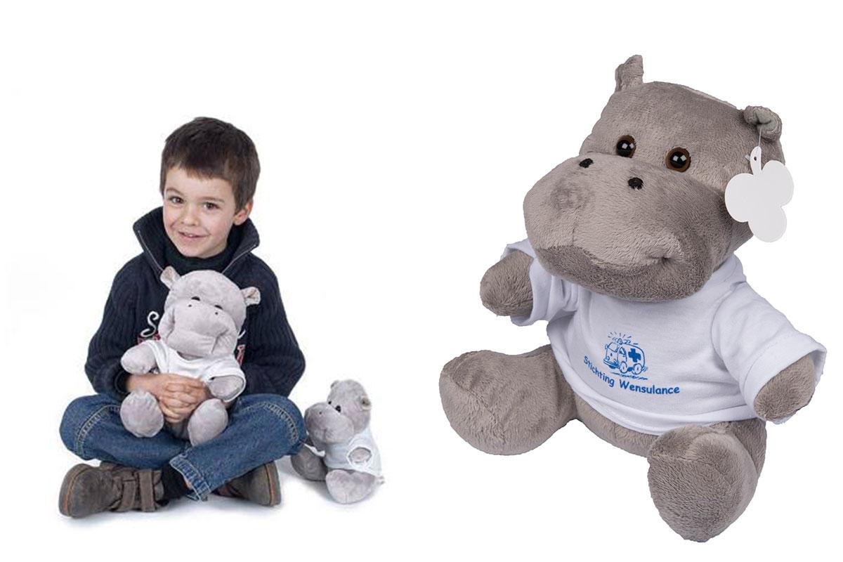 Wensulance mascotte Nijlpaard